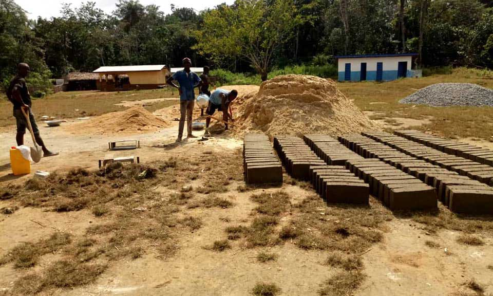 Building work begins for the new classrooms