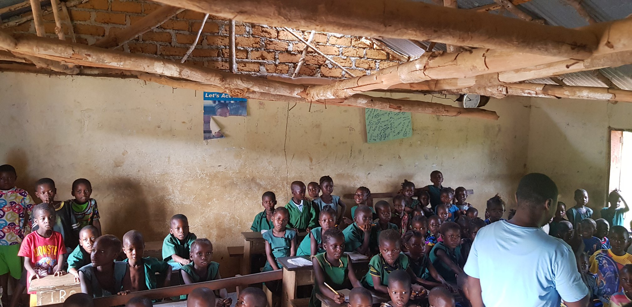 Poorly built school putting children at risk