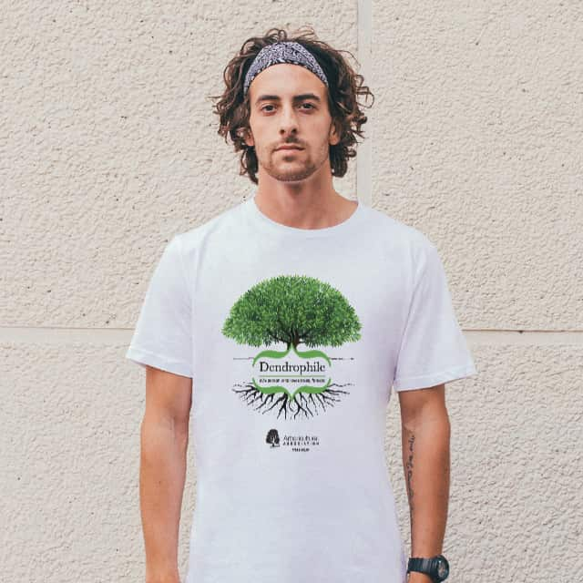 Dendrophile Tree T-Shirt White