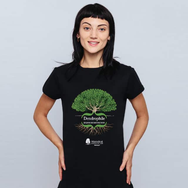 Women's Dendrophile Tree T-Shirt Dark