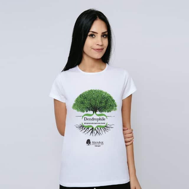 Women's Dendrophile Tree T-Shirt Light