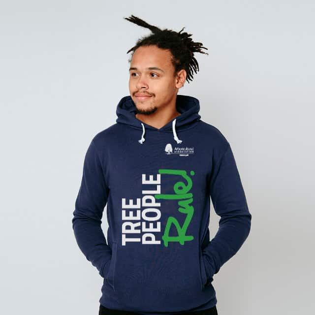 Tree People Rule Hoodie