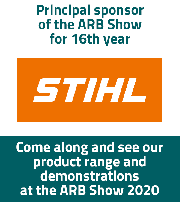 STIHL main sponsor of the ARB Show 2020