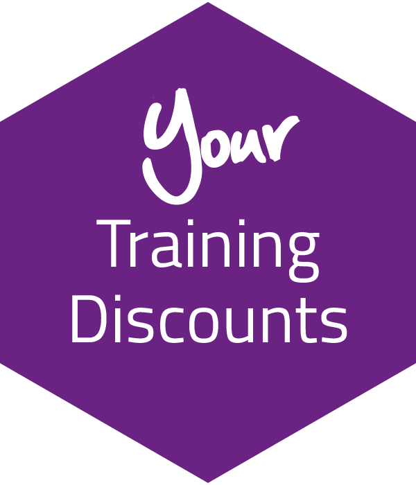 Your Training Discounts