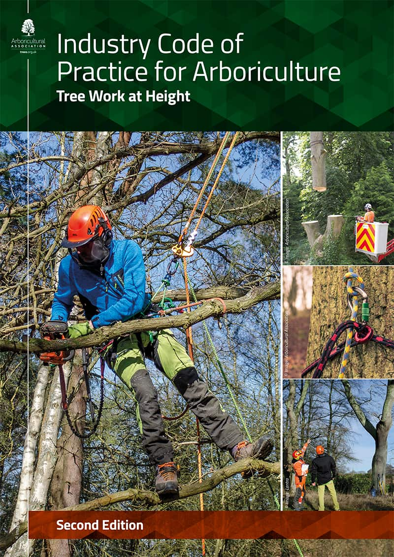 Industry Code of Practice for Arboriculture – Tree work at Height