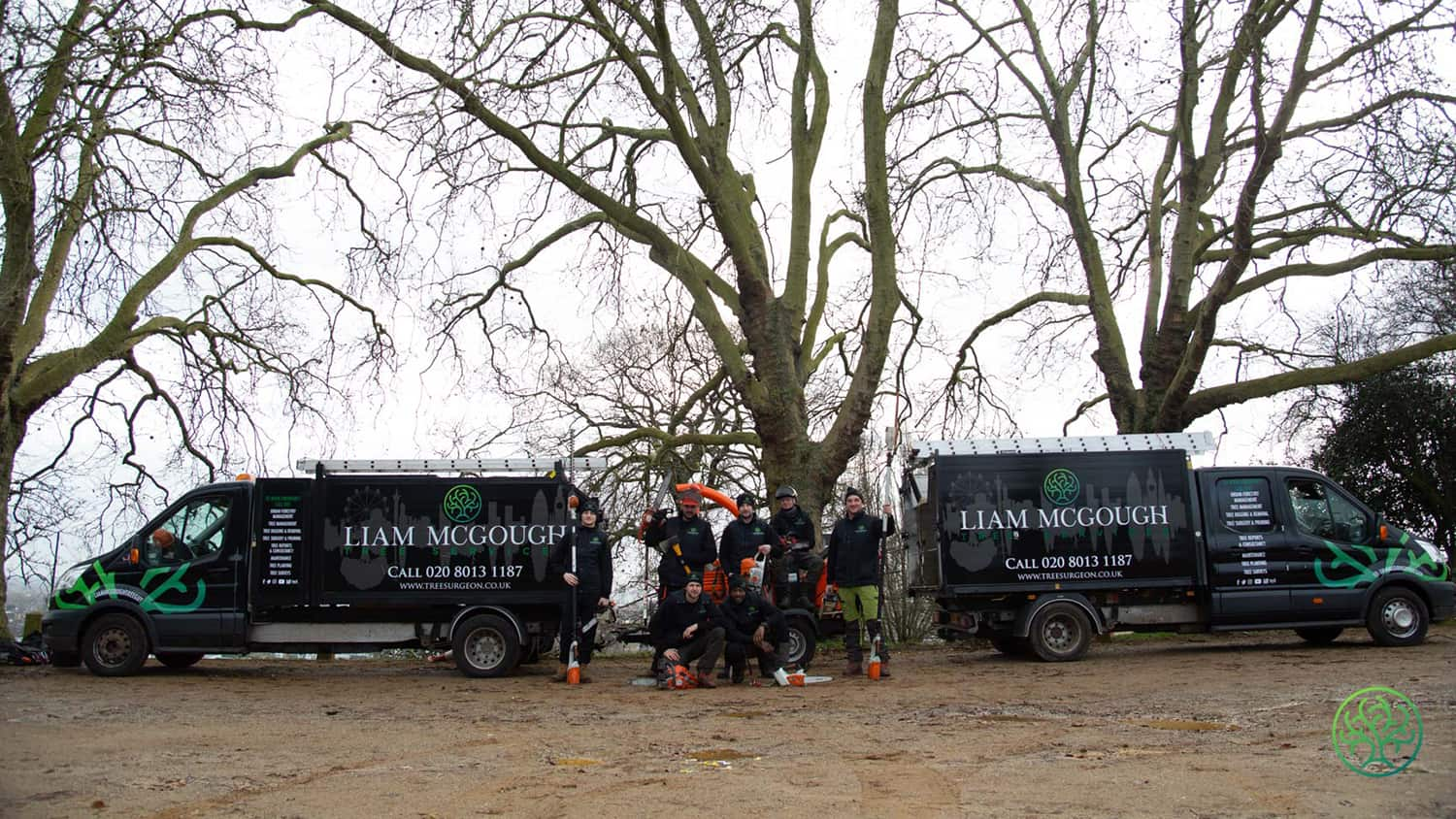 The team at Liam McGough Tree Services (an ARB Approved Contractor)